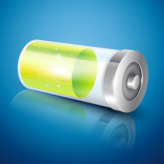 Ilustração do ícone da bateria