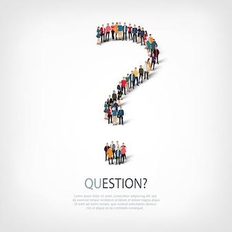 Ilustração do ícone de pergunta