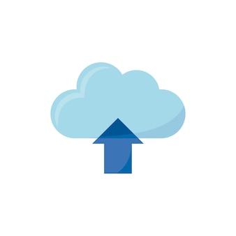 Ilustração do ícone de upload