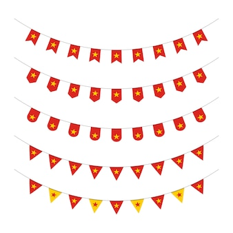 Ilustração do ícone do dia da independência do vietnã