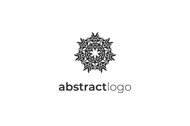 Ilustração do ícone do logotipo elegante e abstrato