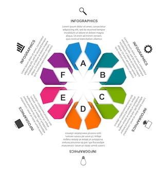 Ilustração do infográfico de opções