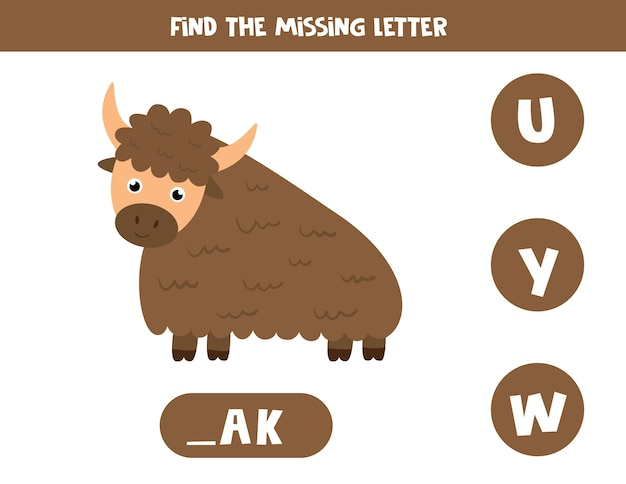 Ilustração do jogo de gramática inglesa para crianças em idade pré-escolar