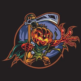Ilustração do logotipo de jack the devil esport