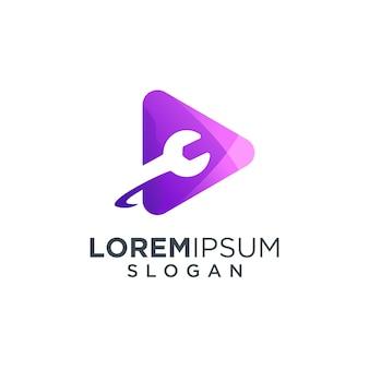 Ilustração do logotipo de mídia