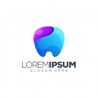 Ilustração do logotipo dental