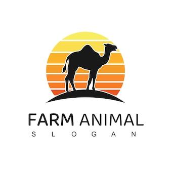 Ilustração do logotipo do camelo