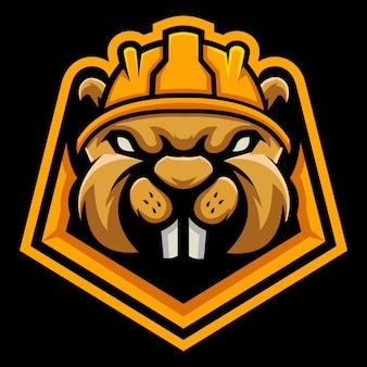 Ilustração do logotipo do gophers esport