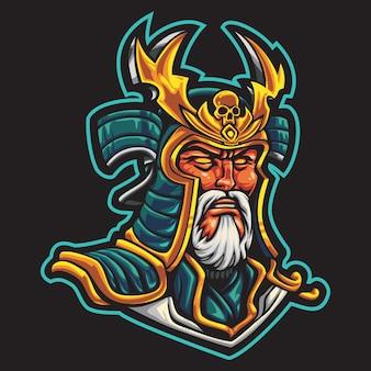 Ilustração do logotipo do imperial king esport