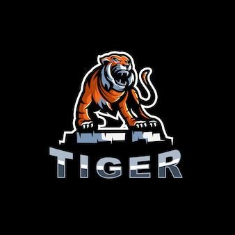 Ilustração do logotipo do tigre
