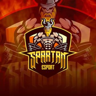 Ilustração do logotipo espartano