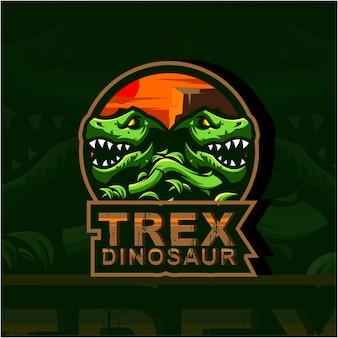 Ilustração do logotipo trex