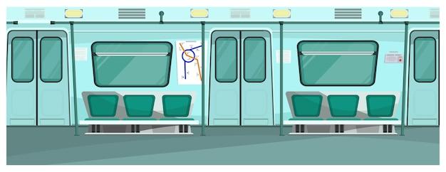 Ilustração do metrô
