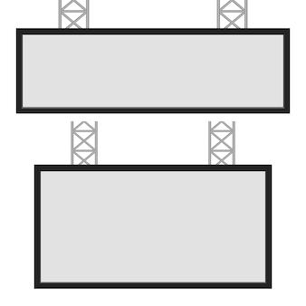 Ilustração do modelo de caixa de luz em fundo branco