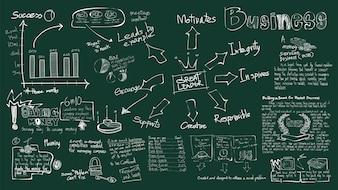 Ilustração do negócio de inicialização