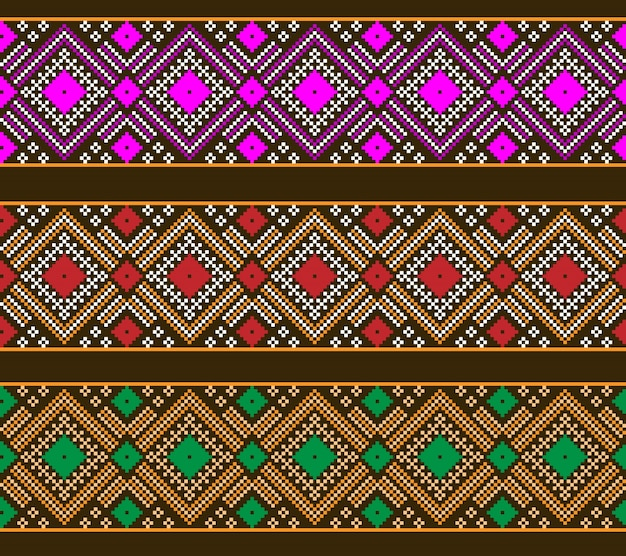 Ilustração do ornamento padrão feminino ucraniano