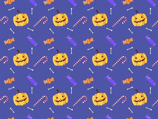 Ilustração do padrão hallowen