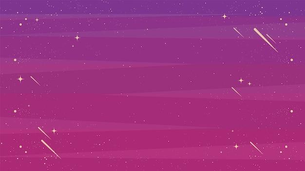 Ilustração do papel de parede da galáxia