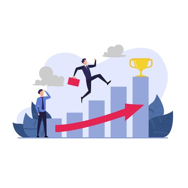 Ilustração do plano de negócios