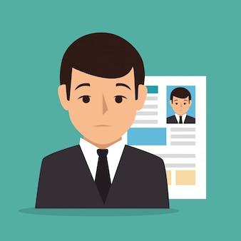 Ilustração do processo de recrutamento
