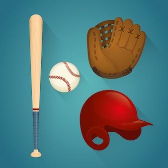 Ilustração do projeto do esporte