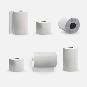 Ilustração do rolo de papel