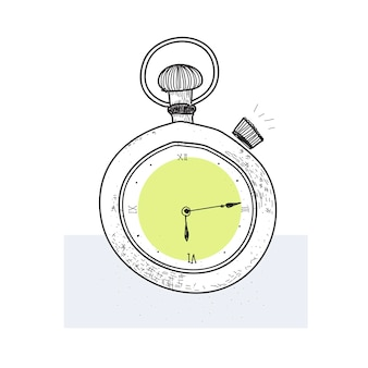 Ilustração do símbolo esboçado de objetos