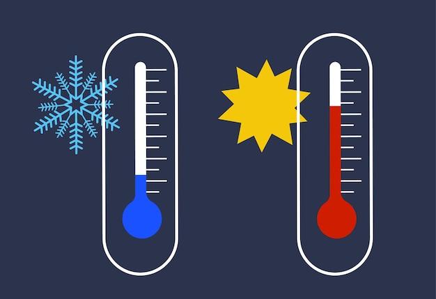 Ilustração do termômetro