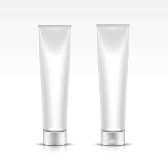 Ilustração do tubo para embalagem de cosméticos