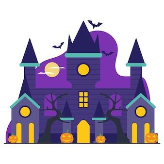 Ilustração do vampire castle flat