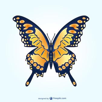 Ilustração do vetor da borboleta