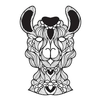 Ilustração do vetor de mandala de lama