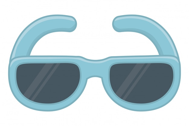 Ilustração do vetor de óculos isolados