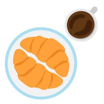 Ilustração do vetor do alimento de café da manhã.