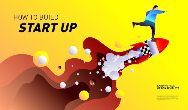 Ilustração e design para start up company