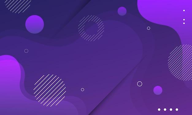 Ilustração em vetor abstrato onda roxa