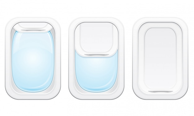 Ilustração em vetor avião vigia