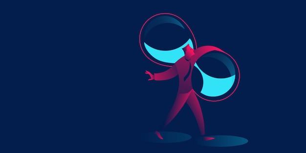 Ilustração em vetor conceito timemanagement negócios