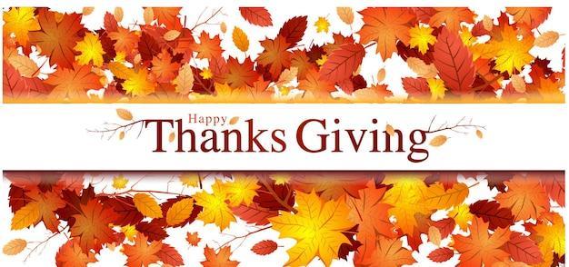 Ilustração em vetor de banner e design de cartão de agradecimento