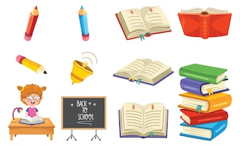 Ilustração em vetor de educação