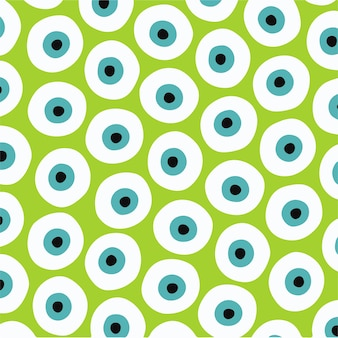 Ilustração em vetor de padrão de olho de monstro backgroud mídia social