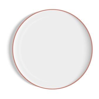 Ilustração em vetor de uma placa branca com sombras