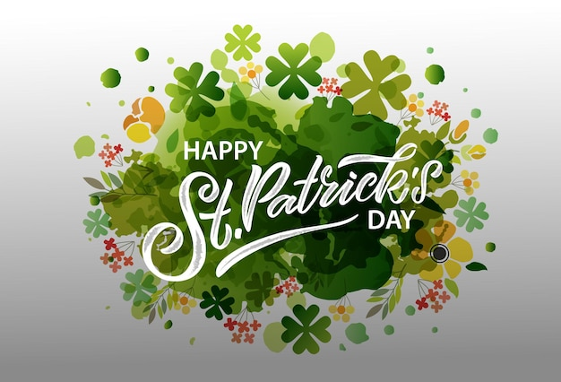 Ilustração em vetor do logotipo do saint patricks day