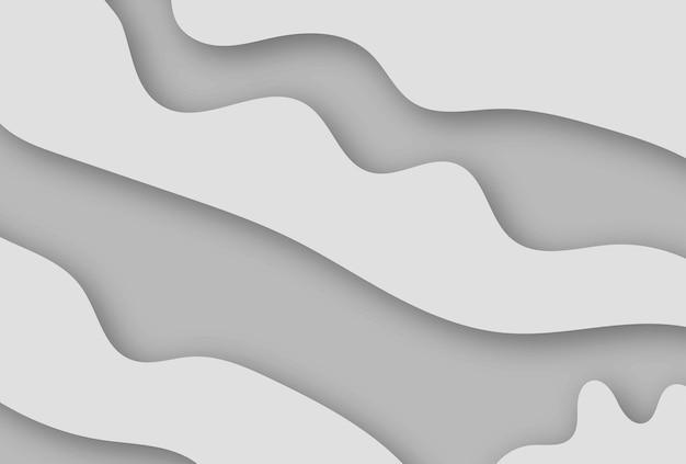 Ilustração em vetor estilo branco de papel de fundo 3d.