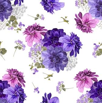 Ilustração em vetor floral fundo bonito