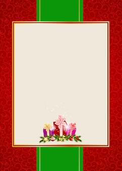 Ilustração em vetor fundo abstrato beleza natal e ano novo