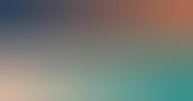 Ilustração em vetor fundo papel de parede gradiente verde centáurea, marrom, azul.