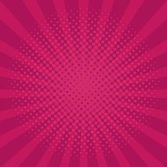 Ilustração em vetor fundo rosa estilo retro vintage.