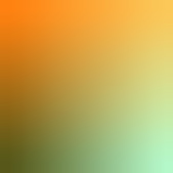 Ilustração em vetor fundo verde oliva, laranja, mimosa, hortelã, papel de parede gradiente