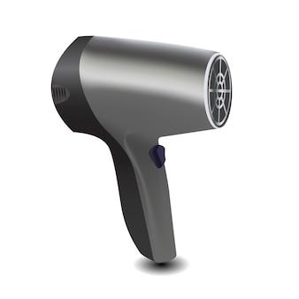 Ilustração em vetor ícone secador de cabelo